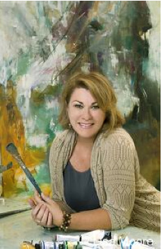 Artist Lisa Moore