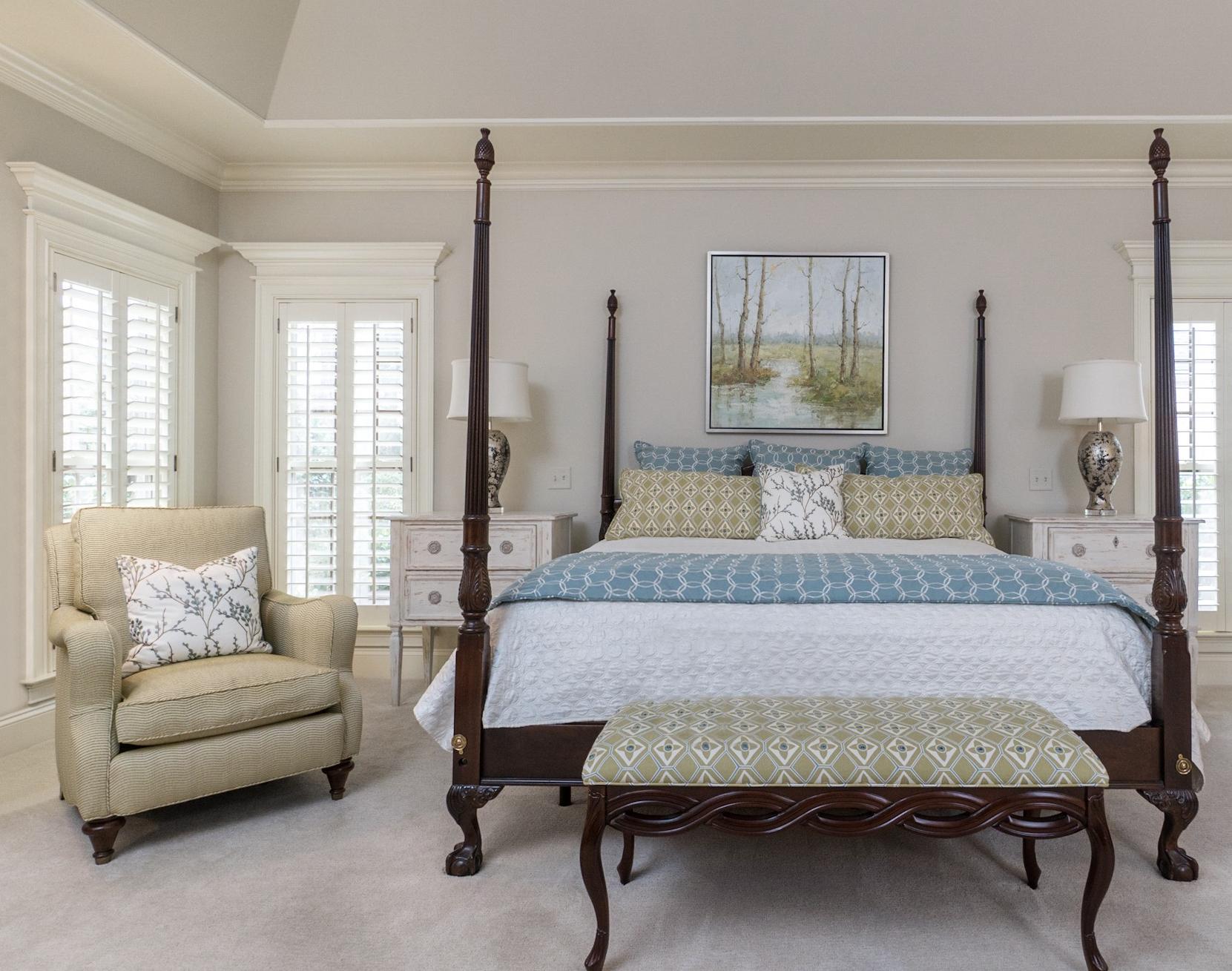 Bedroom by Valerie Garrett Interior Design