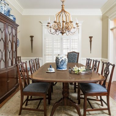 Dining by Valerie Garrett Interior Design