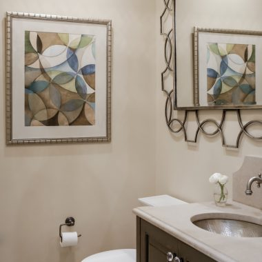 Bath by Valerie Garrett Interior Design