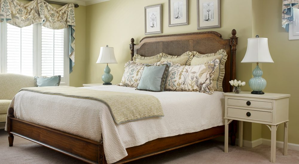 Bedroom by Valerie Garrett Interior Design